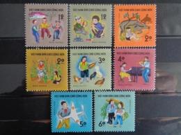 VIETNAM 1990  Y&T N° 1149 à 1156 ** - AIDE A L'ENFANCE - Vietnam