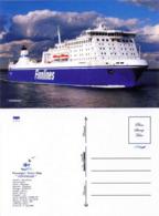 "Ship Postcards - Passenger   Ship : "" Finnmail  "" Variant Read Description - Barcos"