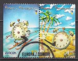 Bosnien - Herzegowina  (2004)  Mi.Nr.  359 Dl + 360 Dr  Gest. / Used  (9fi35)  EUROPA - Bosnien-Herzegowina