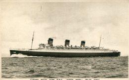 UNITED KINGDOM - RM Steamship Queen Mary - Cunard Line - Piroscafi