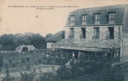 G8- 91) VILLEMOISSON SUR ORGE (SEINE ET OISE) HOTEL DU CLOS DES MERISIERS - ROUTE DE CORBEIL - 2 SCANS - France