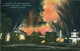 CANADA - Pagent Of Pyrotechnics, Canadian National Exhibition TORONTO - Exposiciones