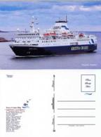 "Ship Postcards - Passenger   Ship : "" Kristina Katarina   "" Variant Read Description - Barcos"