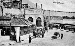 GIBRALTAR - The Market. VG Animation Etc - Gibraltar