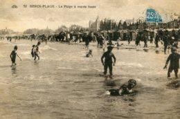 FRANCE - Berck-Plage.  La Plage A Maree Haute - Berck