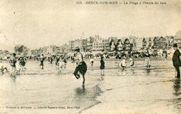 FRANCE - Berck-sur-Mer.  La Plage A L'heure Du Bain 1905 - VG Postmarks Etc - Berck