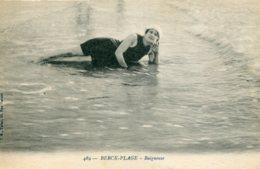 FRANCE - Berck-Plage.  Baigbeuse. - Bathing Beauty! - Berck