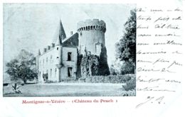 N°75971 -cpa Château Du Peuch -Montignac Sur Vezère- - Francia
