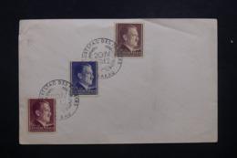 POLOGNE / ALLEMAGNE - Oblitération  Temporaire De Krakau Sur Enveloppe En 1942 - L 42856 - 1939-44: 2. WK