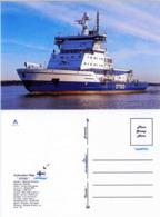 """Ship Postcards - Passenger   Ship : """" OTSO   """" Variant Read Description - Unclassified"""