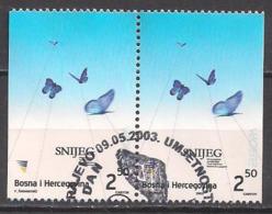 Bosnien - Herzegowina  (2003)  Mi.Nr.  301 Dl + Dr  Gest. / Used  (9fi38)  EUROPA - Bosnien-Herzegowina
