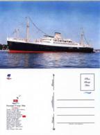 """Ship Postcards - Passenger   Ship : """" Patria    """" Variant Read Description - Unclassified"""