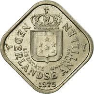 Monnaie, Netherlands Antilles, Juliana, 5 Cents, 1975, TTB, Copper-nickel, KM:13 - Antille Olandesi