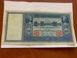 Germany 100 Mark Large Banknote 1910 - 100 Mark