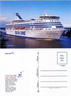 """Ship Postcards - Passenger   Ship : """" Silja Serenade  """" Variant Read Description - Unclassified"""