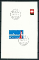 Suiza - PTT (año 1953) - Postmark Collection