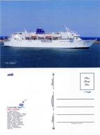 "Ship Postcards - Passenger   Ship : "" The Calipso  "" Variant Read Description - Unclassified"