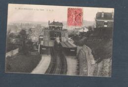 92  -  BAS MEUDON   - LA GARE  - C L C -     (carte N° 2    -   Train à Quai) - Meudon