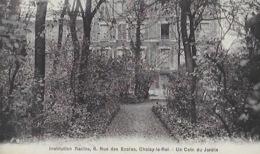 CPA  De CHOISY Le ROI - Institution Racine - Un Coin Du Jardin - Choisy Le Roi