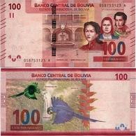 BOLIVIA       100 Bolivianos       P-New       L. 1986 (2019)       UNC  [Series A - Oberthur] - Bolivia