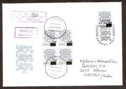 Estonia 1993●FDC Mi203●Cover - Estonie