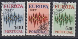 Europa Cept 1972 Portugal 3v Used 1st Day (44890B) - 1972