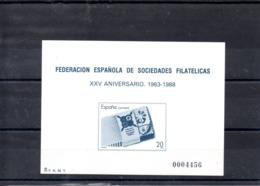 España Prueba 16 Fesofi, Serie Completa En Nuevo - Blocs & Hojas