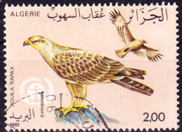 Algerien - Raubadler (Aquila Rapax) (MiNr: 814) 1982 - Gest Used Obl - Algérie (1962-...)