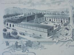 FACTURE - EPERNAY, MARNE, 1921 - CHAMPAGNE ET VINS MOUSSEUX : A. PIERLOT - BELLE DECO - Frankreich