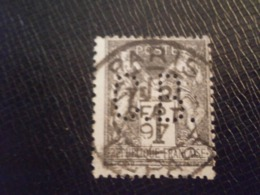 FRANCE TIMBRE SAGE 83 CB32-5 PERFORE PERFORES PERFIN PERFINS PERFO PERFORATION PERFORIERT LOCHUNG PERFORATI PERCE - Perforés