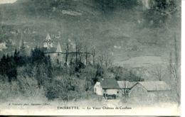 N°75979 -cpa Thoirette -le Vieux Château De Conflans- - France
