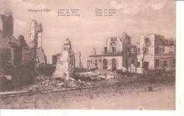 Nieuport Ville (1914-1918) - Villas En Ruines - Nieuwpoort