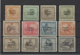 RUANDA-URUNDI  YT  N° 50/61  Neuf **  1924 - 1924-44: Mint/hinged