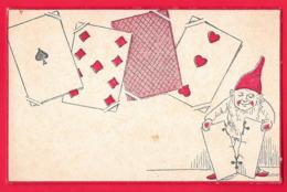Carte A Jouer   - Carte Da Gioco  - Gnome - Cartes à Jouer