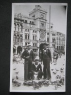 CPA FOTO MARINAI MILITAIRES MILITARI VENEZIA VENICE 1944 - Uniformes