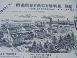 FACTURE - CHAMPIGNY SUR MARNE, 1925 - HUILERIE DE CHAMPIGNY : CL. MICOUD ET SES FILS - L'AUTRE DECO - Frankreich