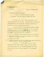 FORMULAIRE ALLEMAND JANVIER 1942 CIRCULAIRE AUX BANQUES CONCERNANT LES VALEURS BLOQUEES DES JUIFS JUDAICA FRANCE OCCUPEE - Documentos