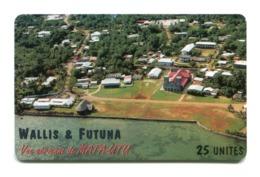 Telecarte Wallis-Futuna °_ 11-Vue De Mata Utu-Sc7-2400 Ex- R/V - Wallis En Futuna