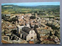 CP 26 Drôme  SAINT PAUL TROIS CHATEAUX - Vue Aérienne Au Premier Plan Cathédrale Notre Dame XIè Et XIIè Siècles 1983 - Other Municipalities