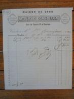 FACTURE - TOULON , VAR, 1864 - MAISON DE GROS : ADOLPHE GENSOLLEN - Frankreich