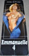 Rare Affiche Film Emmanuelle IV Format 58 X 158 Pin-up - Affiches