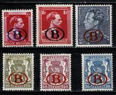 Belg. 1941 OBP/COB D / S 26/31*,  MH (2 Scans) - Servicio
