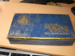 Old Tin Box Neuhaus Montan Union Brasilschatulle Garantiert Echt Brasil 25 Feine Brasil Zigarren - Tabaksdozen (leeg)