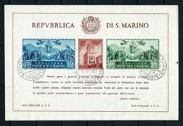 San Marino Nº HB-4 Usado Cat.150€ - Blocks & Sheetlets