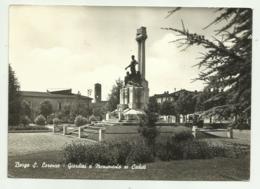 BORGO S.LORENZO - GIARDINI E MONUMENTO AI CADUTI  VIAGGIATA FG - Firenze (Florence)