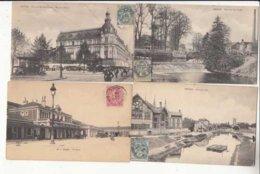 CPA  France 10 - Lot De 34 Cartes  De TROYES  - Achat Immédiat  (cd 004) - Troyes