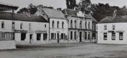 Ghlin Grand'Place Et Maison Communale (Club Cycliste, Brasserie Bières Colmant) - Mons