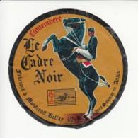 Etiquette De Fromage Camembert - Le Cadre Noir - Montreuil Bellay - Maine Et Loire. - Formaggio