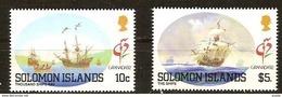 Salomon Solomon Islands 1992 Yvertn° 743 *** MNH 739 Gratuit Cote 6,50 Euro Bateaux Ships Boten Pas Complète - Salomon (Iles 1978-...)