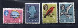 ISOLA DI ST. HELENA - 1965 - Prima Serie Postale - 4 Valori - Nuovi - Linguellati * - (FDC17326) - Isola Di Sant'Elena